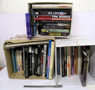 Lot 111-Motoring Books