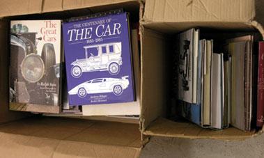 Lot 113-Assorted Motoring Books