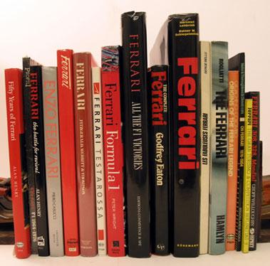 Lot 115-Quantity of Ferrari Books