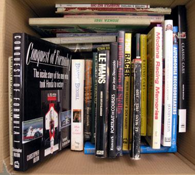 Lot 116-Quantity of Motor Racing Books