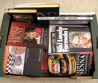 Lot 119-Motor Racing Biographies