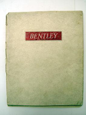 Lot 120-Bentley 4.25 Litre Sales Catalogue
