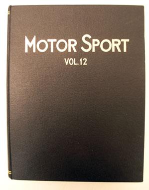 Lot 121-Bound Motorsport Magazine Volume 12