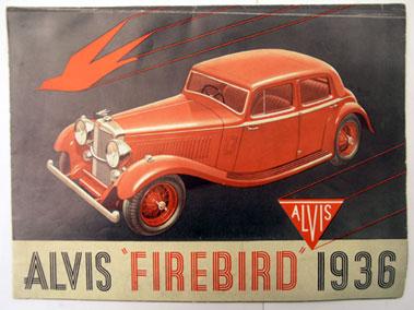 Lot 122-Alvis Firebird Sales Brochure