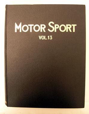 Lot 123-Bound Motorsport Magazine Volume 13