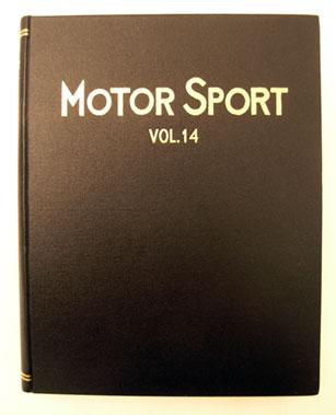 Lot 124-Bound Motorsport Magazine Volume 14
