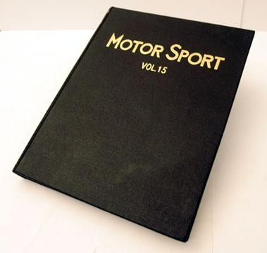 Lot 125-Bound Motorsport Magazine Volume 15