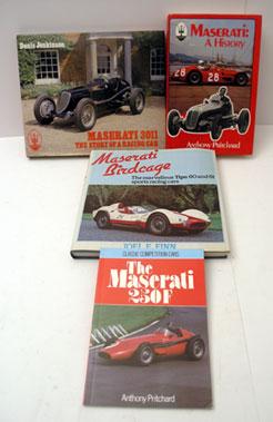 Lot 126-Four Maserati Books