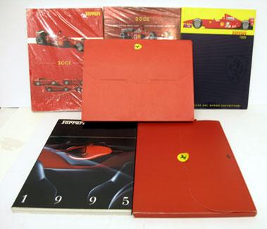 Lot 127-Six Ferrari Yearbooks