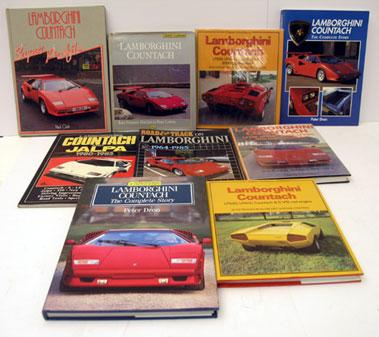 Lot 128-Quantity of Lamborgini Books