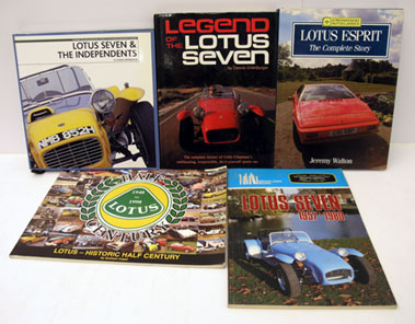 Lot 130-Five Lotus Books