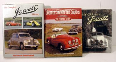 Lot 132-Three Jowett Books