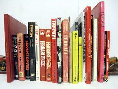 Lot 133-Quantity of Ferrari Books