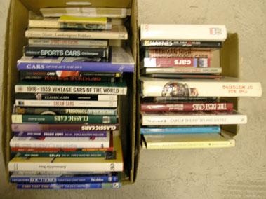 Lot 134-Large Quantity of Motoring Books
