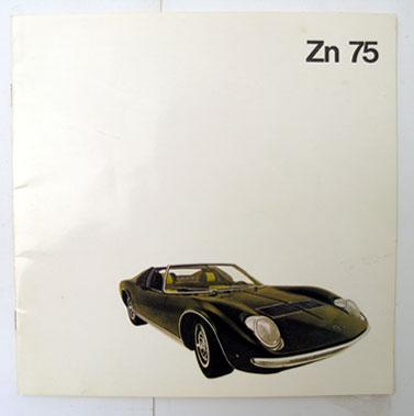 Lot 144-Lamborghini Zn 75 Sales Brochure