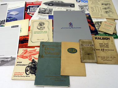Lot 147-Assorted Paperwork
