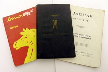 Lot 148-Three Motorcar Handbooks