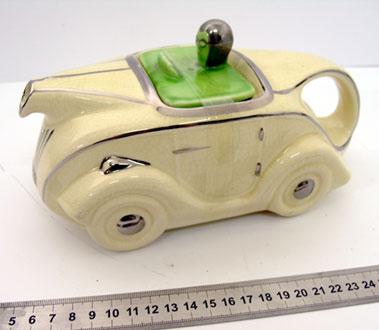 Lot 201-Sadler Motorcar Tea Pot