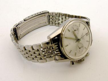 Lot 203-Carrera Heuer Gents Wristwatch