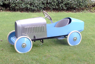 Lot 205-Eureka Bugatti Child's Pedal Car