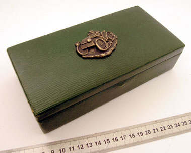 Lot 207-Novelty Motoring Jewellery Box