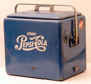 Lot 213-Pepsi Cola Drinks Cooler