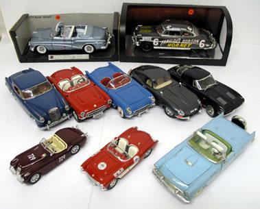 Lot 215-Assorted Un-boxed Models