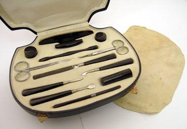 Lot 216-Citroen Badged Travelling Manicure Case