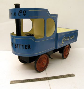 Lot 220-Sentinel Steam Lorry Child's Toy