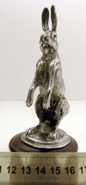 Lot 309-Alvis 'Seated Hare' Mascot