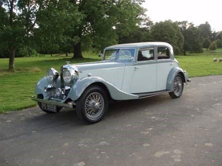 Lot 90-1934 Bentley 3.5 Litre Saloon