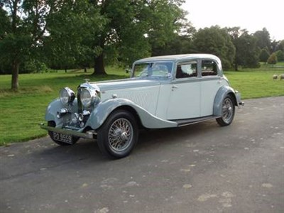 Lot 90-1934 Bentley 3.5 Litre Saloon