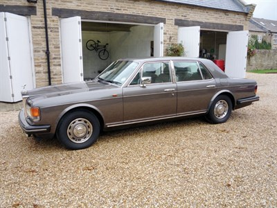 Lot 5-1984 Rolls-Royce Silver Spirit