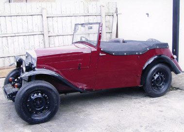 Lot 51-1935 Wolseley Wasp Special