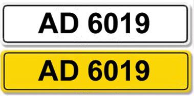 Lot 2 - Registration Number AD 6019