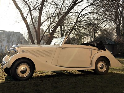 Lot 64 - 1937 Railton Eight Fairmile III Drophead Coupe