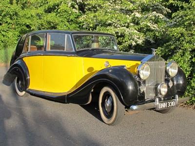 Lot 33-1949 Rolls-Royce Silver Wraith Limousine