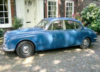 Lot 6-1968 Jaguar 340