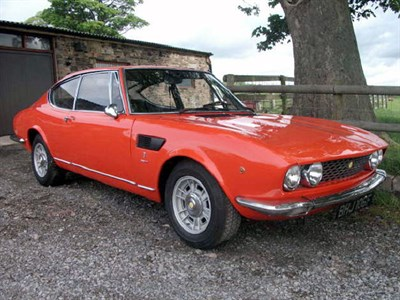 Lot 22-1968 Fiat Dino Coupe