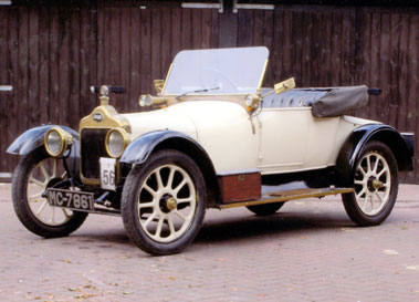 Lot 59-1914 Calcott 10.5hp Light Tourer