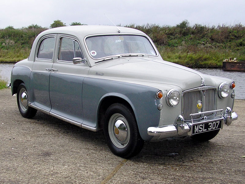 Lot 90-1959 Rover 90 Saloon