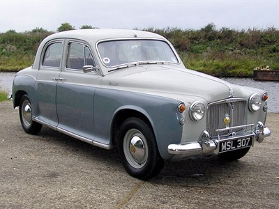 Lot 90 - 1959 Rover 90 Saloon