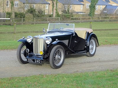 Lot 12-1949 MG TC