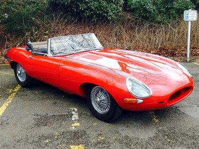 Lot 59 - 1962 Jaguar E-Type 3.8 Roadster