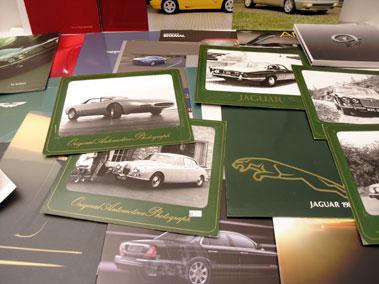 Lot 101-Jaguar & Aston Martin Paperwork