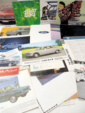Lot 106-Sales Brochures & Press Packs