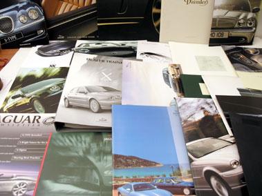 Lot 108-Jaguar Paperwork