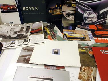 Lot 111-Assorted Sales Brochures