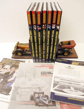 Lot 112-American Racing Literature