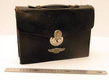 Lot 200-Travelling Vanity Case Suitable for a Vintage Bentley